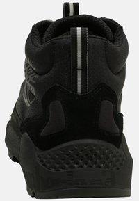 Timberland - RIPCORD MID HIKER  - Höga sneakers - black - 3