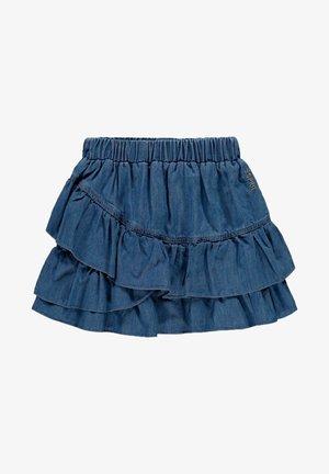 Mini skirt - blue medium washed