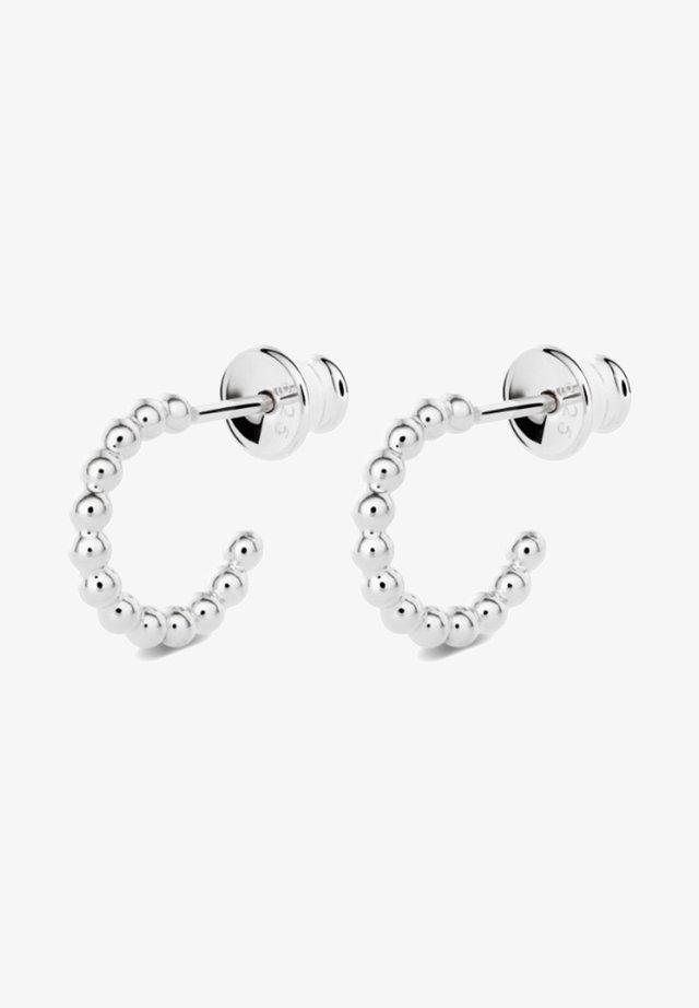 CHAMPAGNE HOOP EARRINGS - Boucles d'oreilles - silver