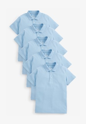 5 PACK TEFLON® COATED  - Poloshirt - blue