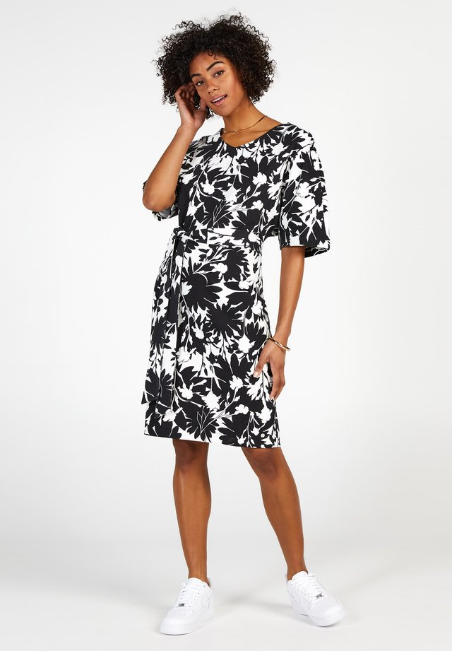 COLLECTION - Jersey dress - black