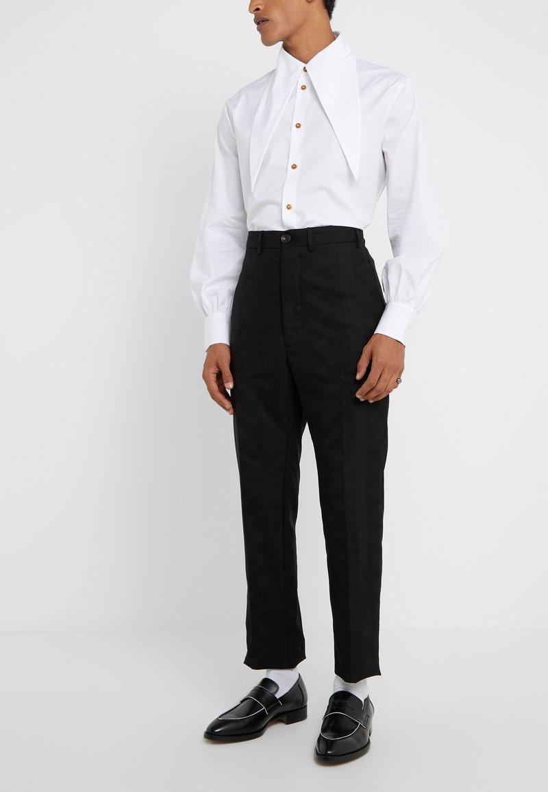 Vivienne Westwood - CROPPED GEORGE - Pantaloni eleganti - black