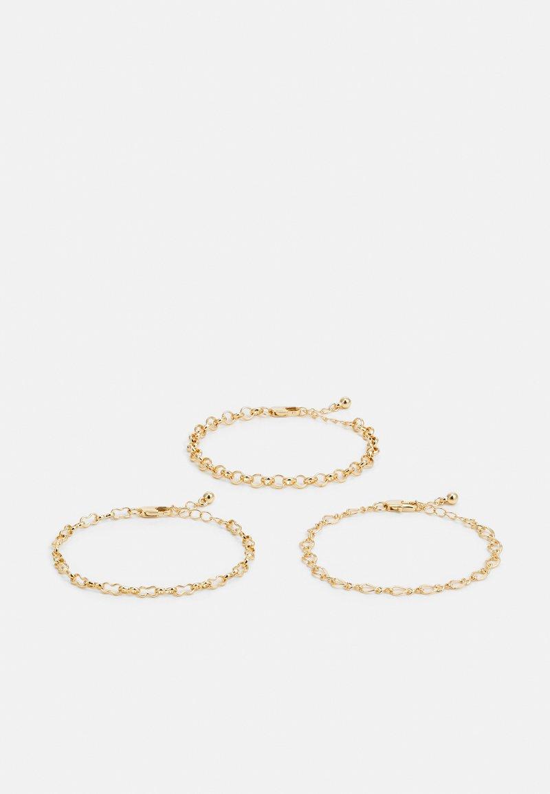 Pieces - PCFAISE 3 ACK BRACELET  - Bracelet - gold