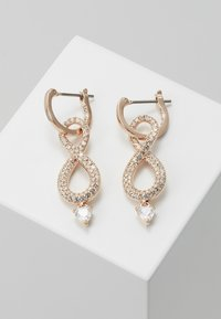 Swarovski - INFINITY - Pendientes - rose gold-coloured - 0