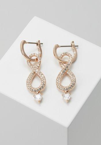INFINITY - Earrings - rose gold-coloured