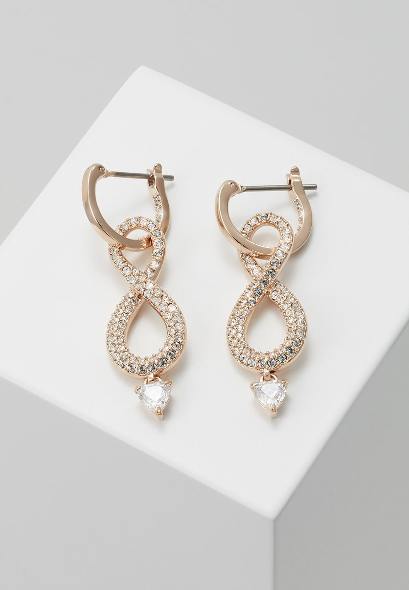 Swarovski - INFINITY - Pendientes - rose gold-coloured