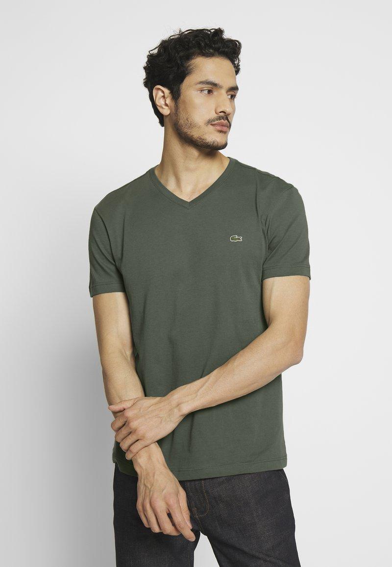 Lacoste - T-shirt basic - aucuba