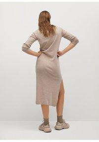 Mango - ROLLY - Jumper dress - light/pastel grey - 4
