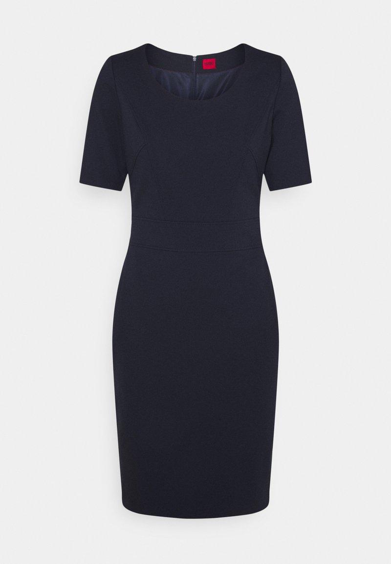 HUGO - KACHENI - Shift dress - open blue