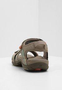 Teva - TIRRA - Walking sandals - taupe/multi - 3