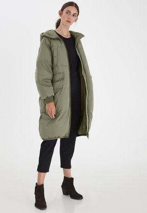 Down coat - deep lichen green