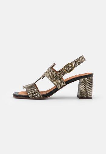 LUSCA - Sandals - natur