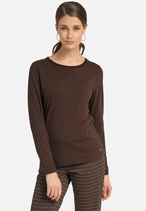 Long sleeved top - braun