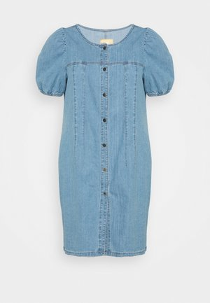 CARDANNY  LIFE DRESS - Denimové šaty - medium blue denim