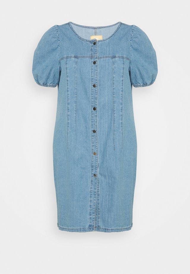 CARDANNY  LIFE DRESS - Denimové šaty - medium blue denim