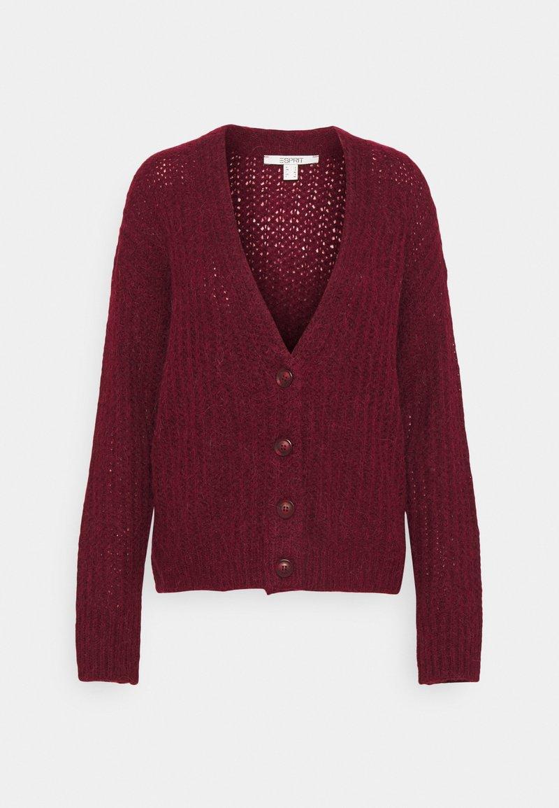 Esprit - Cardigan - bordeaux red