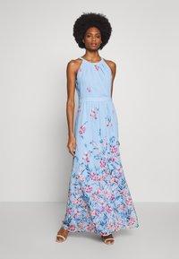 Esprit Collection - FLUENT GEORGE - Maxi šaty - pastel blue - 1