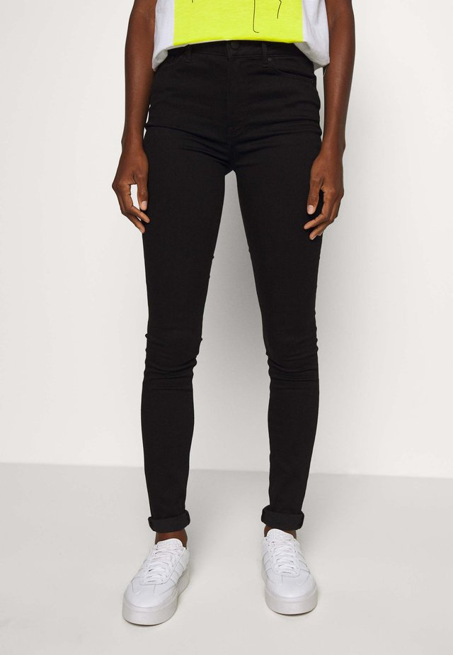 HARLEM ULTRA - Jeansy Skinny Fit - black