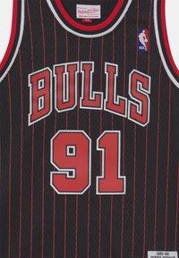Mitchell & Ness - NBA CHICAGO BULLS DENNIS RODMAN UNISEX - Club wear - black - 2