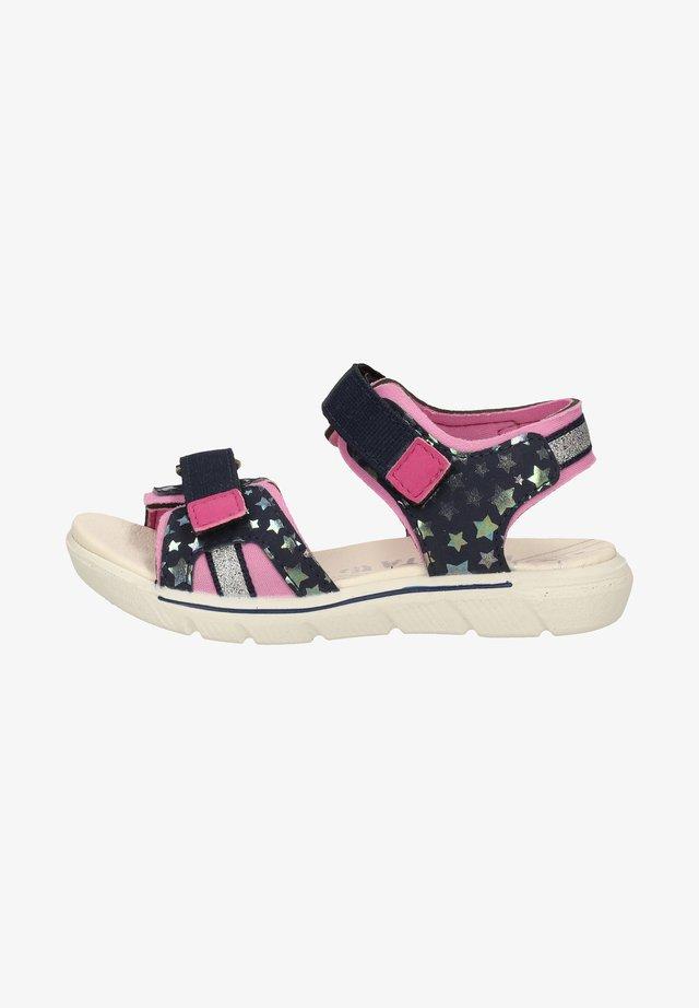 Walking sandals - nautic/rosada