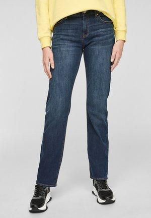 BROEKEN - Slim fit jeans - dark blue