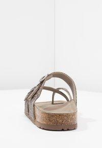 Madden Girl - BRYCEE - Sandály s odděleným palcem - pewter multicolor - 5