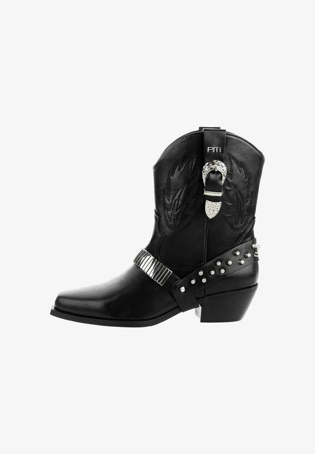 SAGRADO - Korte laarzen - black