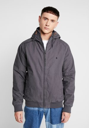 HERNAN COASTER - Light jacket - asphalt black