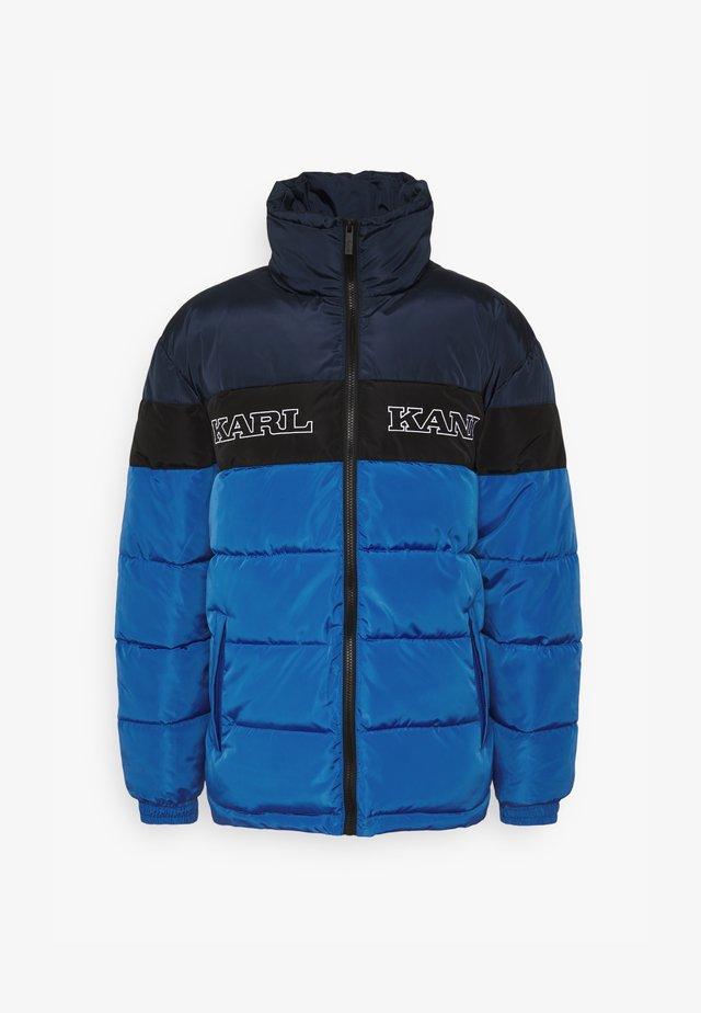 BLOCK PUFFER JACKET - Winter jacket - blue