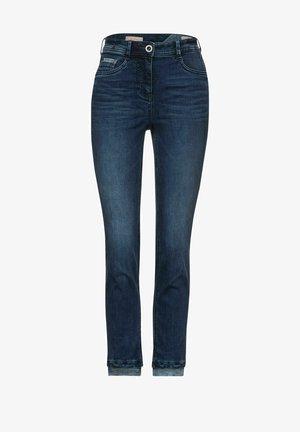 MIT STREIFEN-DETAIL - Slim fit jeans - blau