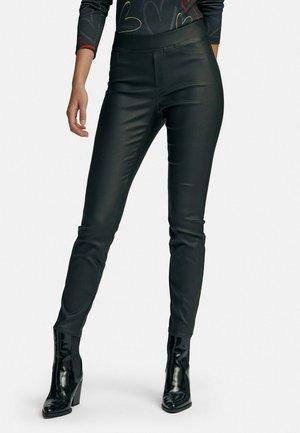 7/8 SCHLUPFEN - Trousers - schwarz