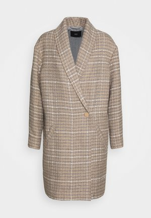 NOTTING HILL CHECK COAT - Manteau classique - beige