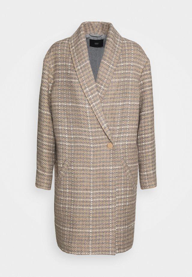 NOTTING HILL CHECK COAT - Frakker / klassisk frakker - beige