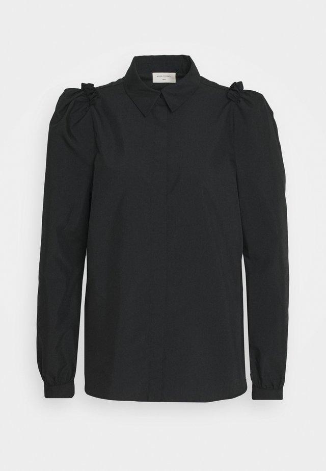 GIGI COLLAR - Skjorta - black