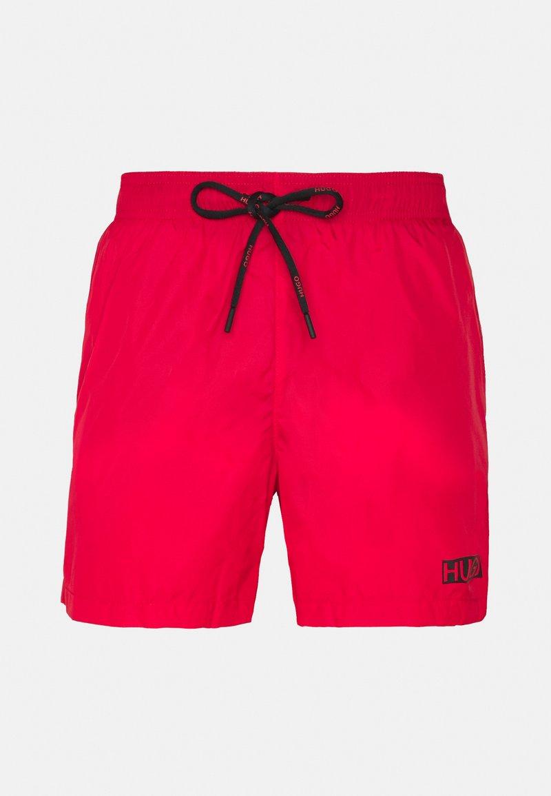 HUGO - HAITI - Swimming shorts - open red