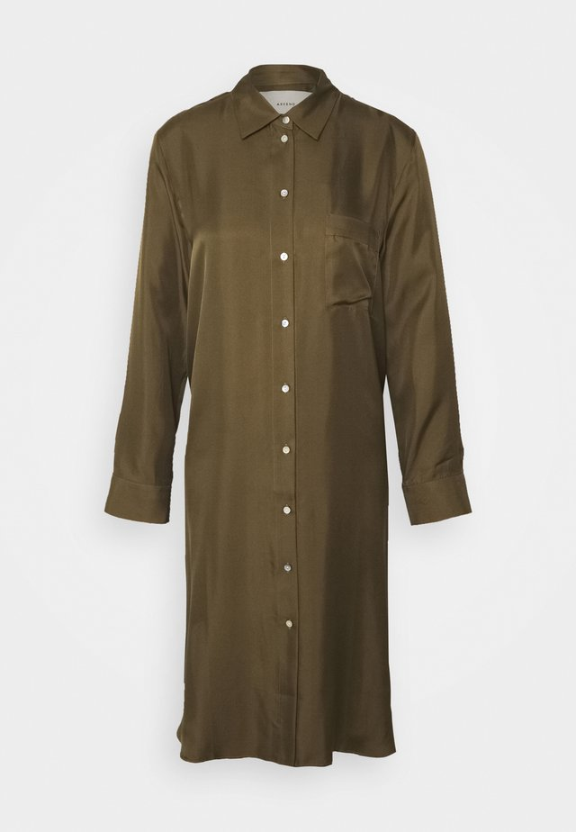 THE OXFORD DRESS - Yöpaita - light army