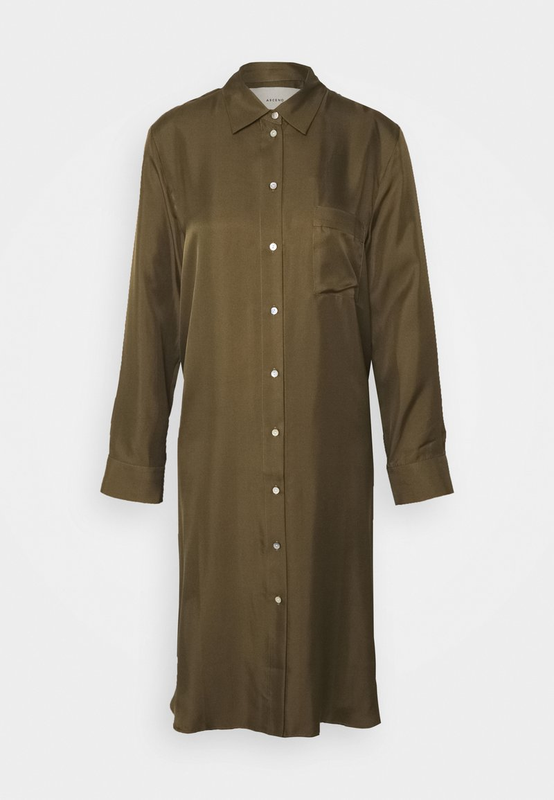 ASCENO - THE OXFORD DRESS - Nightie - light army
