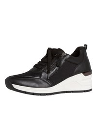Marco Tozzi - SNEAKER - High-top trainers - black comb - 2