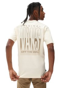 Vans - MN OFF THE WALL CLASSIC GRAPHIC SS - Print T-shirt - seedpearl - 1
