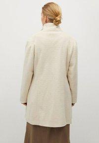Violeta by Mango - BUCLE - Classic coat - écru - 2
