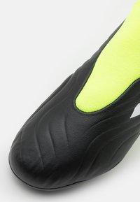 adidas Performance - COPA SENSE.3 FG UNISEX - Korki Lanki - core black/footwear white/solar yellow - 5