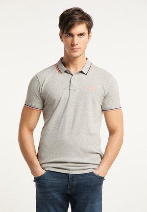 Polo shirt - light grey melee