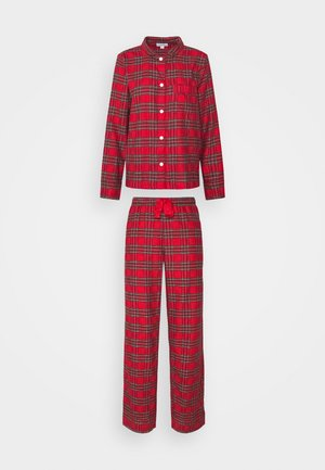 SLEEP SET - Pyjama set - red/green