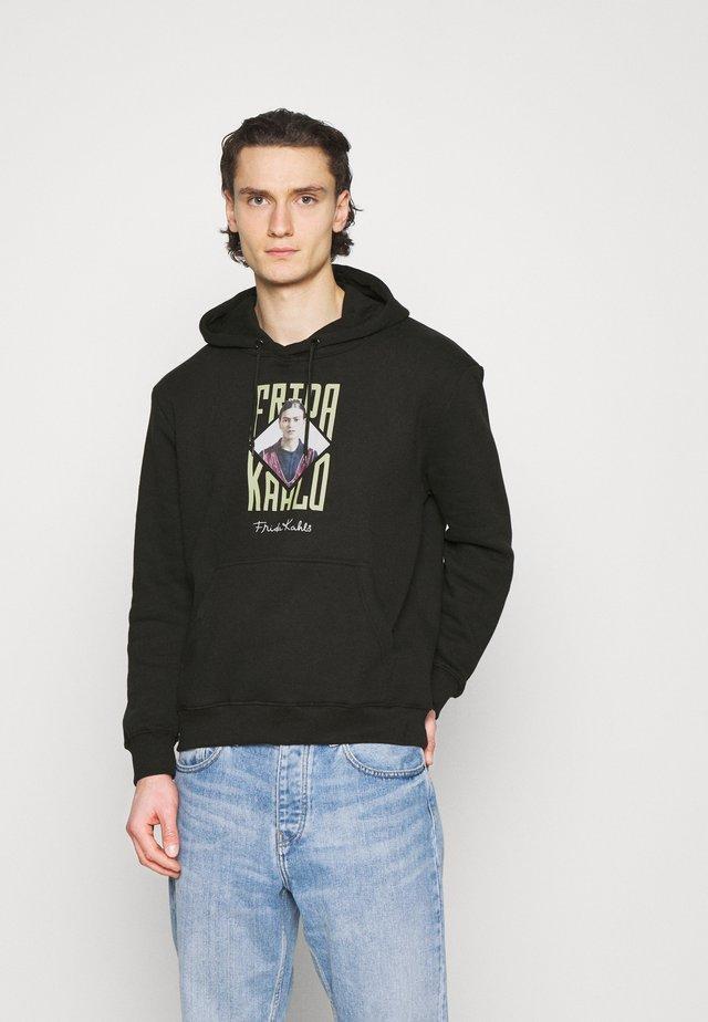 FREDA KAHLO PHOTO HOOD - Sweatshirts - black