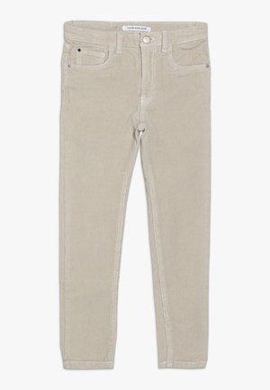 5 POCKET PANTS - Trousers - grey