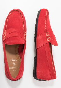Polo Ralph Lauren - REYNOLD DRIVER - Moccasins - red - 1