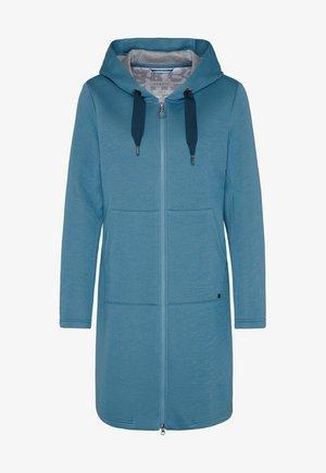 Classic coat - blaugrau