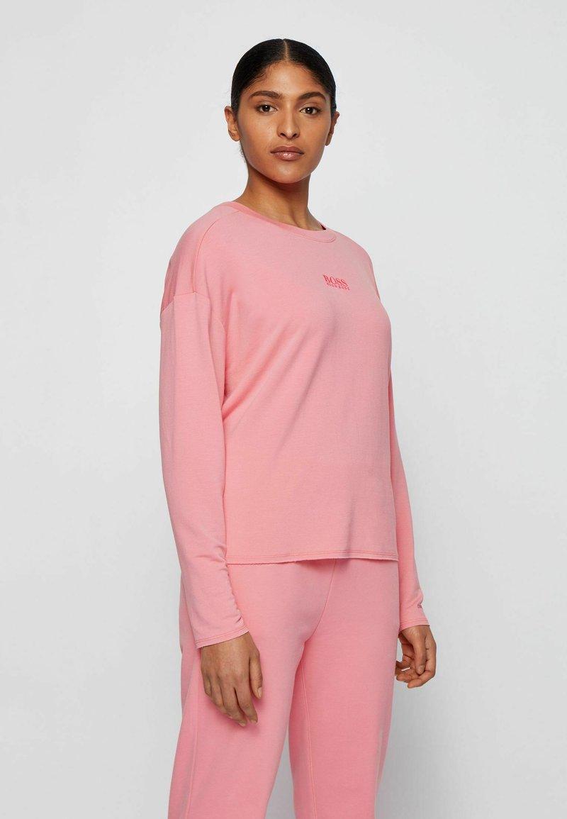 BOSS - C_ELINA_ACTIVE - Long sleeved top - light pink