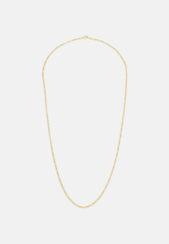 FIGARO CHAIN NECKLACE UNISEX - Collana - gold-coloured