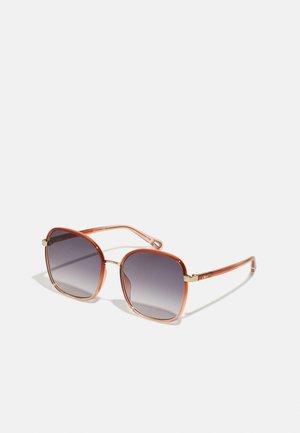 Sunglasses - orange/blue